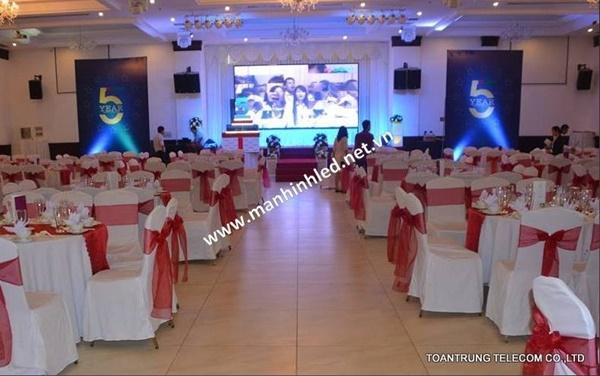 Toàn Trung thi công màn hình led cho công trình TTC Palace Bình Thuận