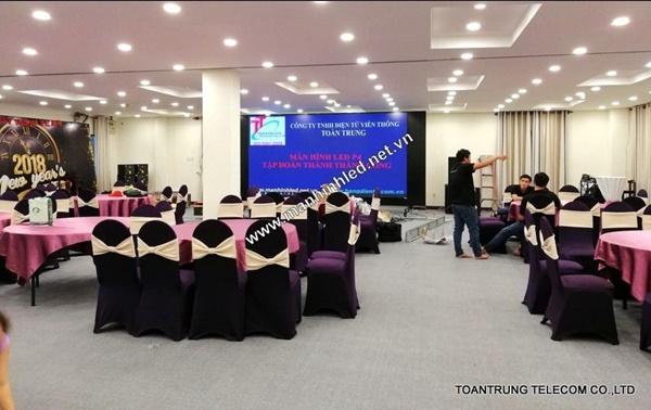 Toàn Trung cung cấp và lắp đặt màn hình led trong nhà tại TTC Hotel Premium DaLat với giá cạnh tranh